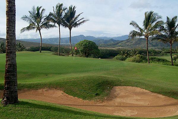 Kauai's Spectacular Golf Courses