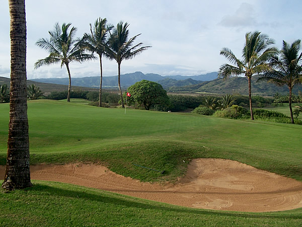 Kauai's Spectacular Golf Courses