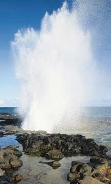 Kauai's Famous Spouting Horn, Poipu