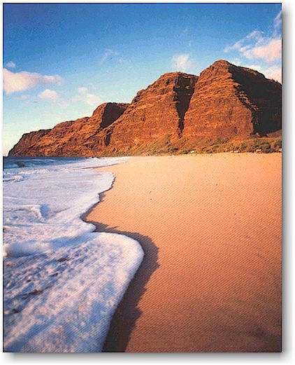 Kauai Beaches: Polihale Beach Park