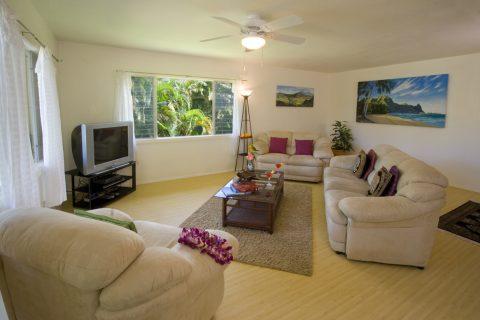 Kauai Vacation Rental: Ikena Makana at Tunnels Beach