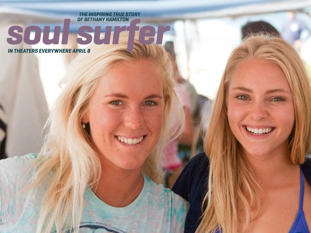 """Kauai's Bethany Hamilton in """"Soul Surfer"""""""