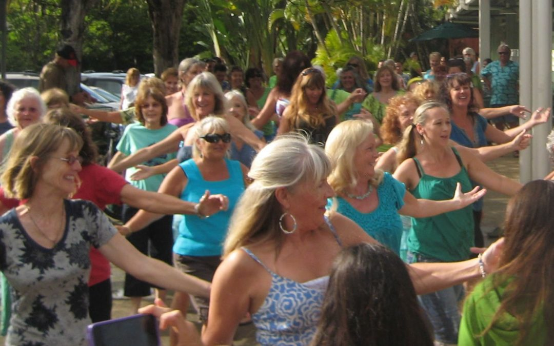 Flash Mob… or Flash Hula?