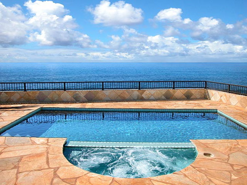 Blue Horizons: Oceanfront Poipu Home