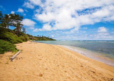 Aliomanu Beach, Kauai