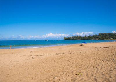 Hanalei Bay Beach, Kauai