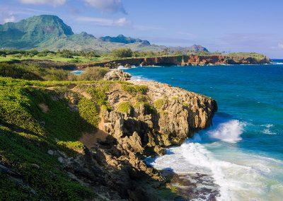Mahalepu Coastline, Poipu, Kauai