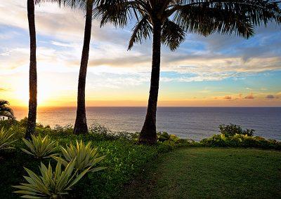 Princeville, Kauai at Sunset
