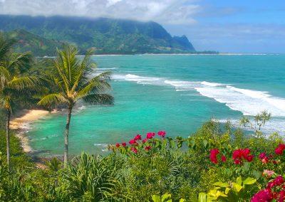 Princeville's Hideaway Beach, Kauai