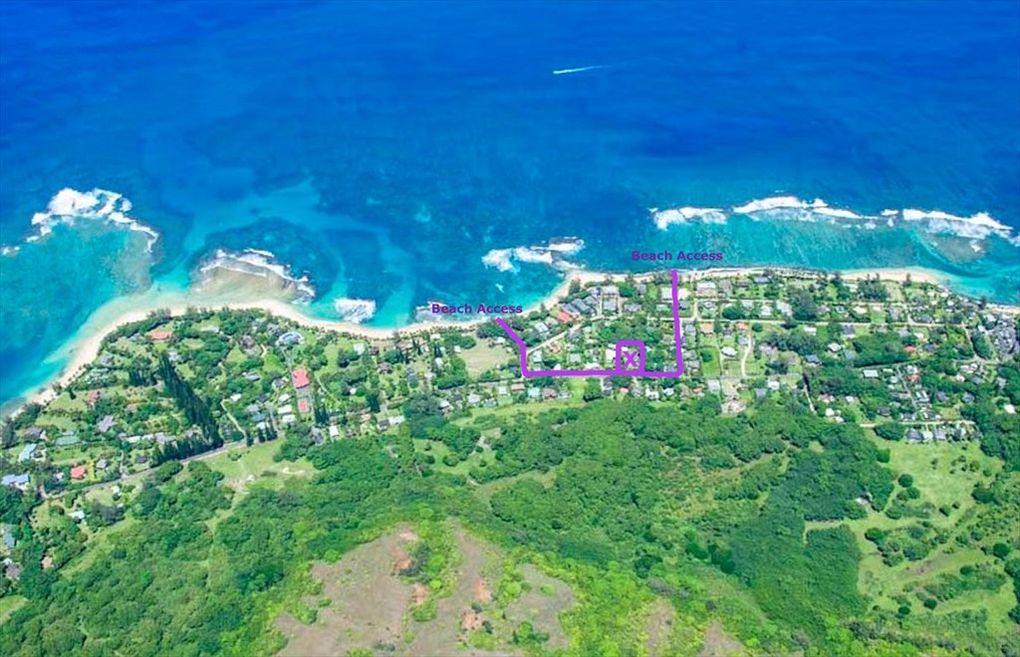 Makana Aloha Haena Rental map location