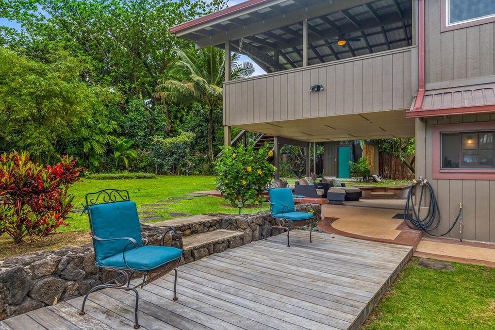 Makana Aloha Haena Rental Patio