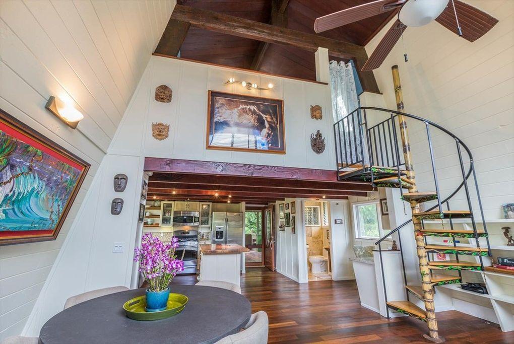 Makana Aloha Haena Rental great room