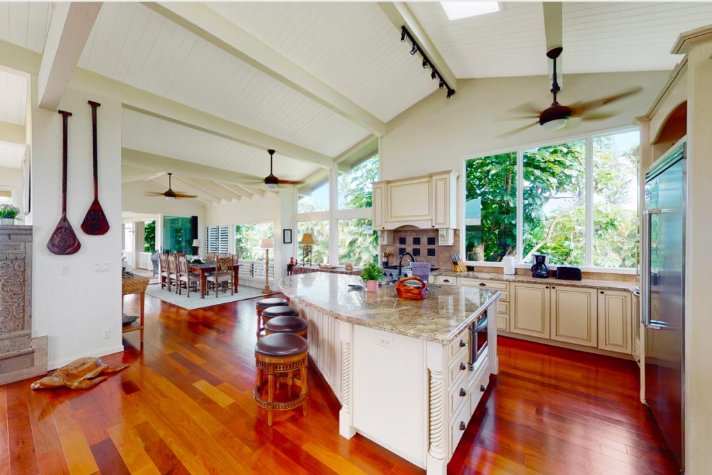 Punahele Princeville Vacation Rental kitchen