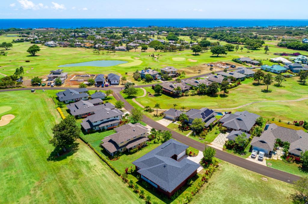 Kolepa Kai Poipu Rental aerial view