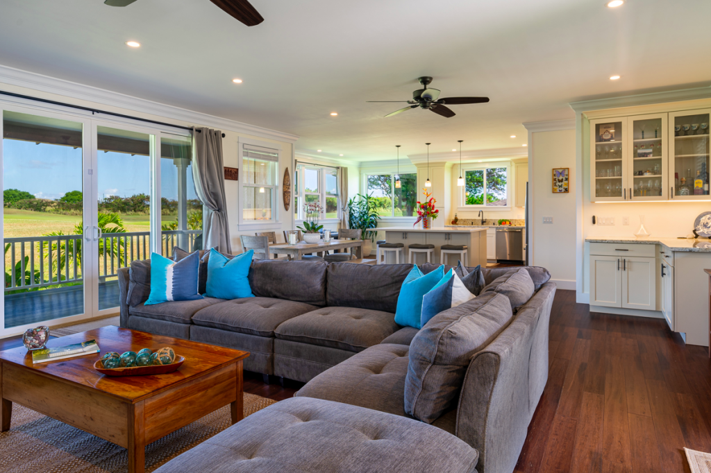 Kolepa Kai Poipu Rental living area