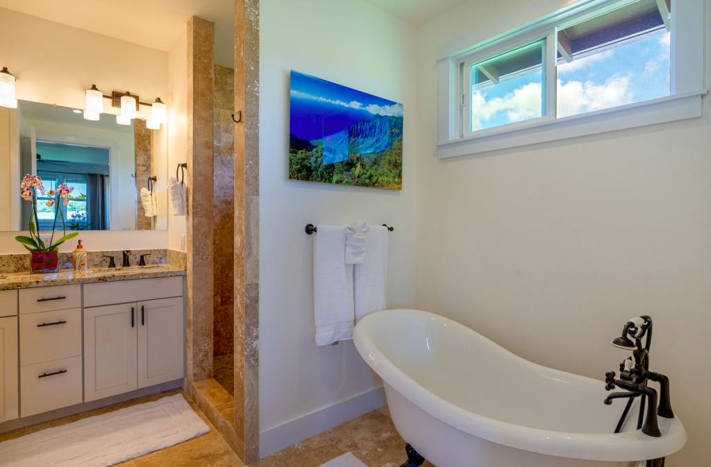 Kolepa Kai Poipu Rental bathroom