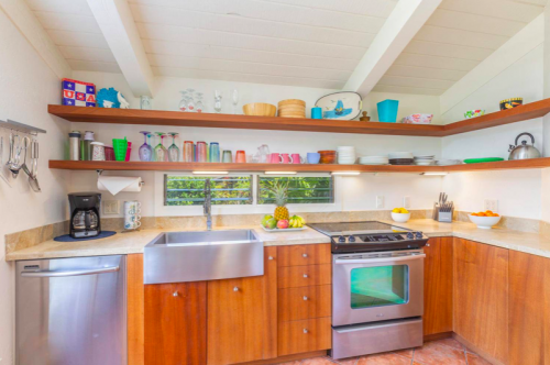 Paliuli #1 Princeville Vacation rental kitchen