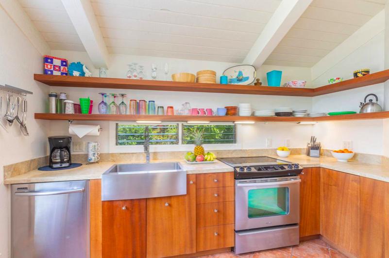 Paliuli #1 Princeville Vacation rental kitchen