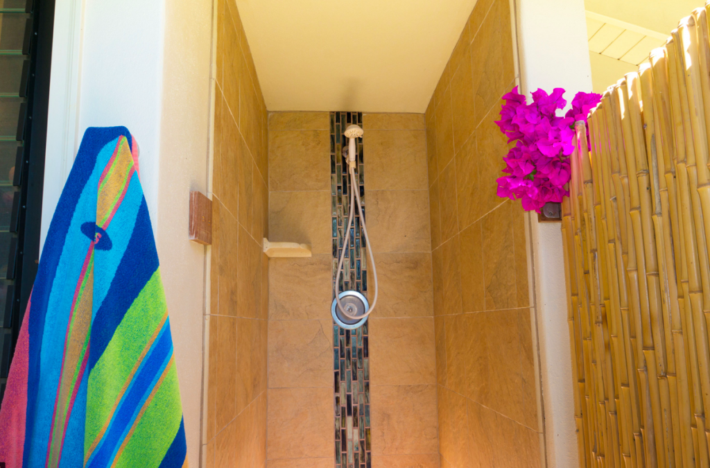 Kekua Princeville Vacation Rental shower