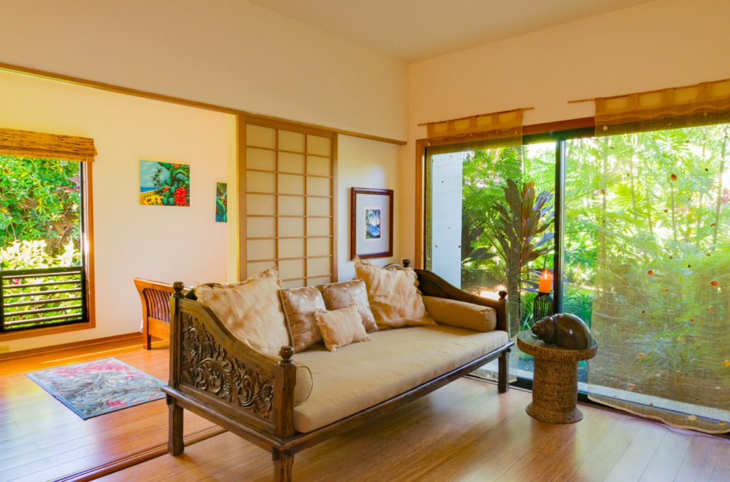 Kekua Princeville Vacation Rental living area