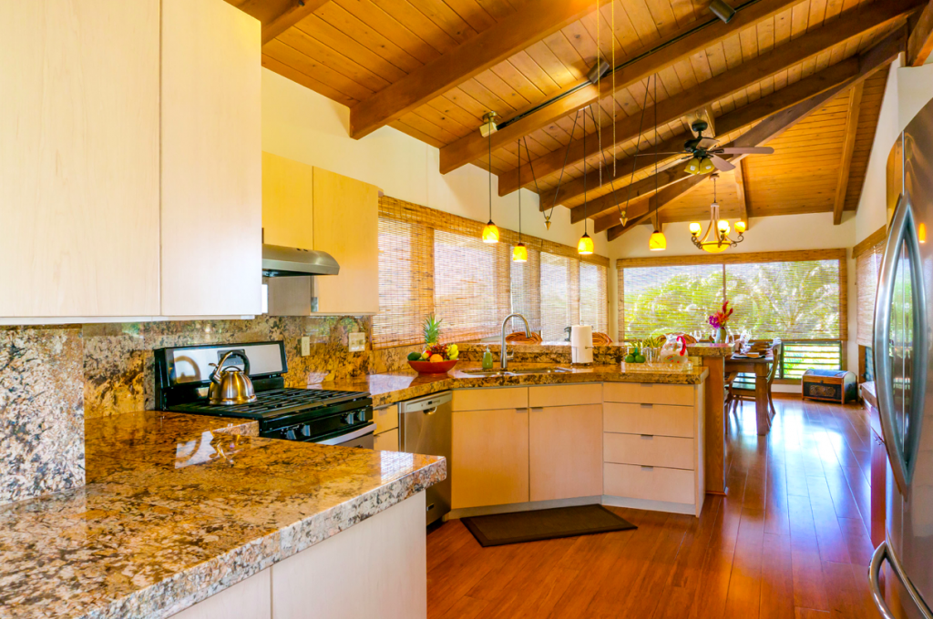Kekua Princeville Vacation Rental kitchen