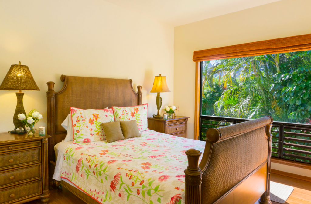 Kekua Princeville Vacation Rental guest bedroom