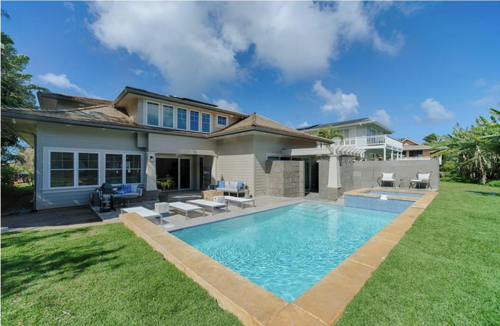 Makana Pool House Princeville pool