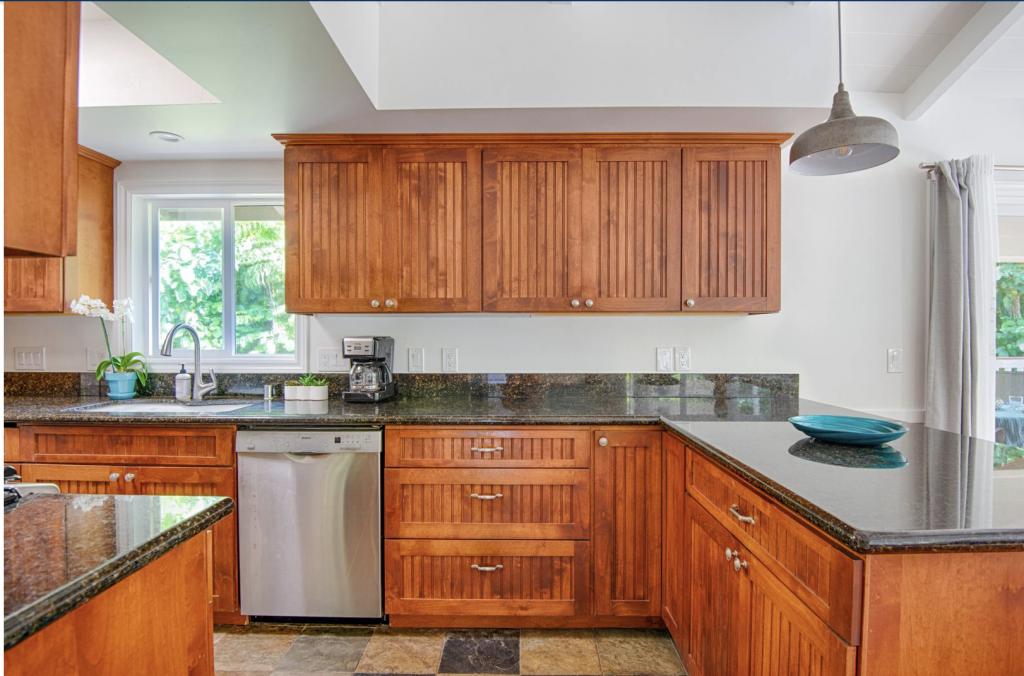 Hale Kauai Haena kitchen