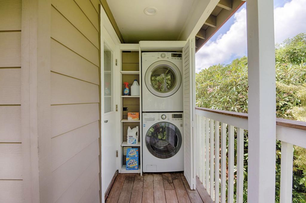 Hale Kauai Haena laundry facilities