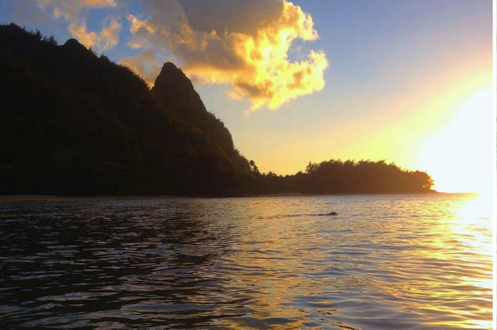 Bali Hai Sunset Kauai